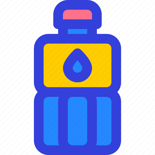 bottle, drink, plastic, sport, water icon