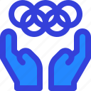 hand, olympic, sport, tournament, world icon