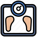 exercise, fitness, miscellaneous, running, scale, sport, weight icon