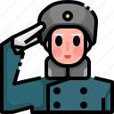 army, avatar, man, military, people, soldier icon