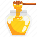 food, healthy, honey, jar, pot, sweet icon
