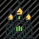 architecture, cathedral, church, russia icon