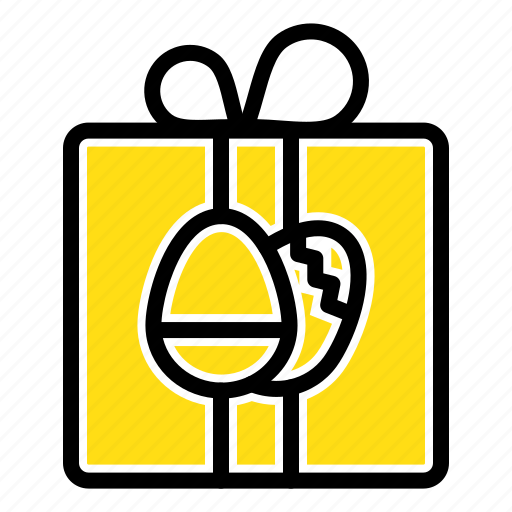 birthday, box, easter, gift icon