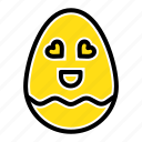 easter, egg, happy icon