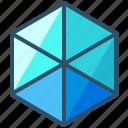 hexahedron, geometry, shape, design, sacred, creative