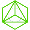 creative, design, line, sacred, shape, triangle icon