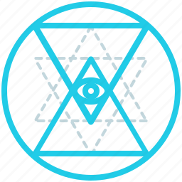 creative, design, line, shape, sri, yantra icon