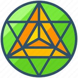 creative, cube, design, geometry, metatron, shape icon