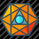 octahedron, geometry, shape, sacred, creative