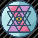 sri, yantra, geometry, shape, design, sacred