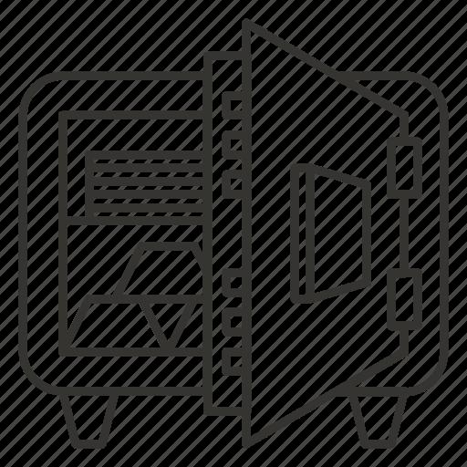 deposit, home, money, safe, strongbox icon