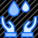 drops, water, safe, rain, hand, oil