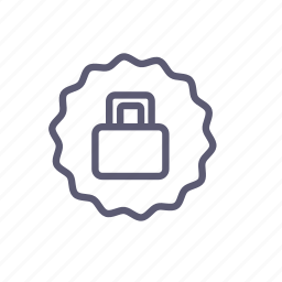 closed, lock, private, reliable, safety, security icon