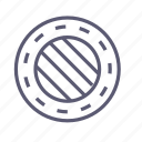defender, manhole, protection, safety, security, shield, well icon