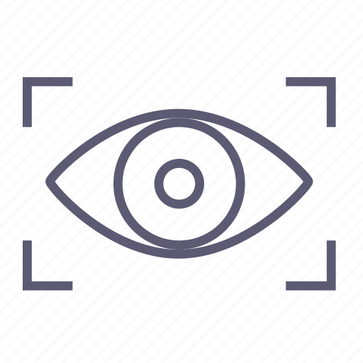 eye, invisible, look, safety, track, visible, watch icon