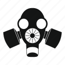 protective, danger, gas, mask, protection, safety, toxic icon