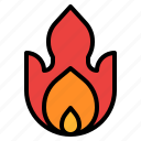 fire, safety, sign, warning