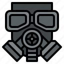 gas, mask, protection, respirator, safety