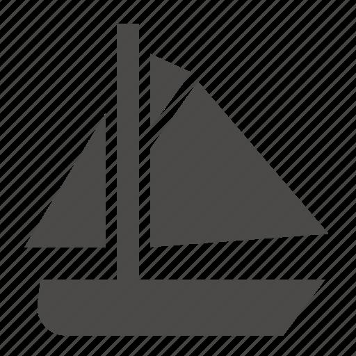 cutter, marine, military, passenger, sailing, ship, transport icon