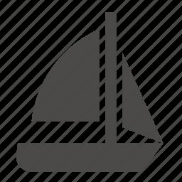 marine, military, passenger, sailing, ship, sloop, transport icon