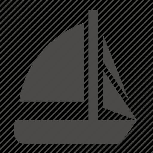 marine, military, passenger, sailing, ship, tender, transport icon
