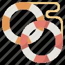 lifebelt, lifebuoy, lifesaver, shipsecurity, support, travelling, vacation icon
