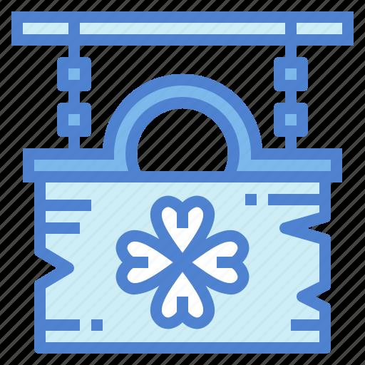clover, cultures, irish, sign icon