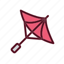 blossom, festival, japan, sakura, umbrella icon
