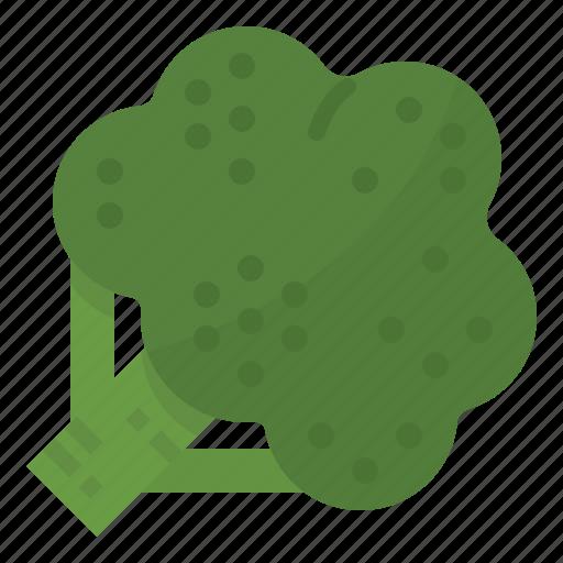 broccoli, healthy, vegetable, vitamins icon