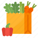 food, grocery, shopping, vegetable icon