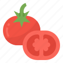 healthy, tomato, vegetable, vitamins icon