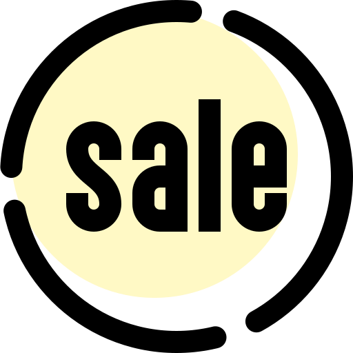 badge, discount, sale, shop, shopping icon
