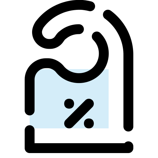 percent, sale, shop, sticker, tag icon