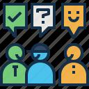 approval, ask, customer, manager, mentor, saleman