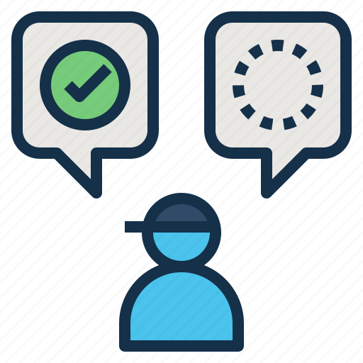 Accept, closing, never, now, or, reject, sale icon