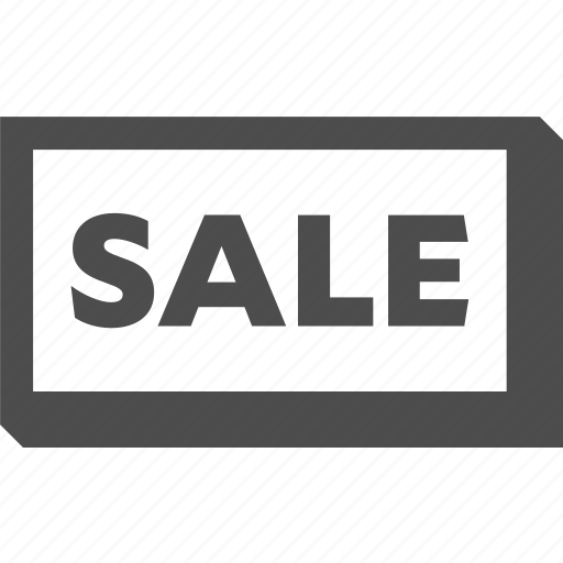 discount, sale, sign icon
