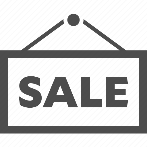 discount, hang, sale, sign icon
