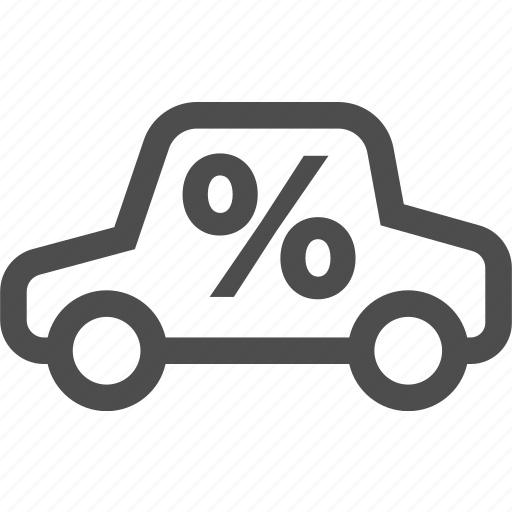 car, discount, fees, sale, vihicle icon