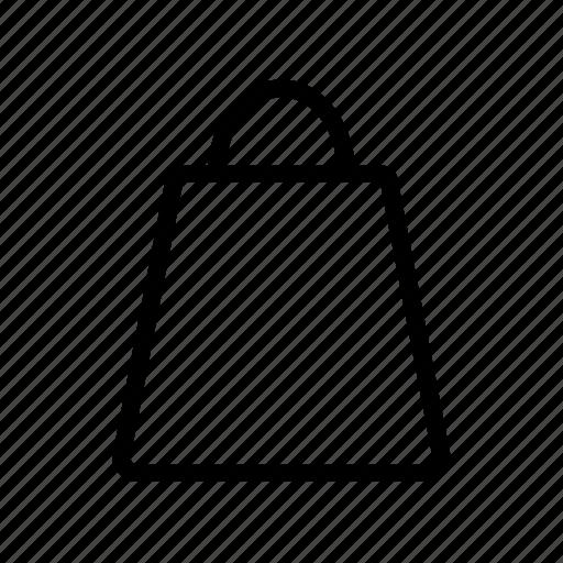 bag, basket, buy, cart, line, purchase, service, shopper icon