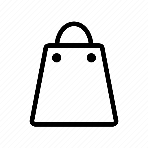 bag, buy, cart, line, sale, shopping, store icon