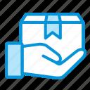 box, online, pick, sales, shop icon