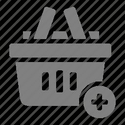 add, basket, cart, online, sales, shop, to icon