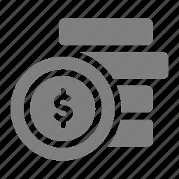coin, money, online, sales, shop icon