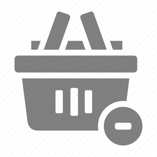 cart, item, online, remove, sales, shop icon