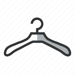 apparel, clothes, fashion, fitting, hanger, shopping, wear icon