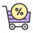 business, buy, cart, discount, marketing, sales, shopping icon