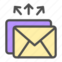 blast, business, email, marketing, sales icon