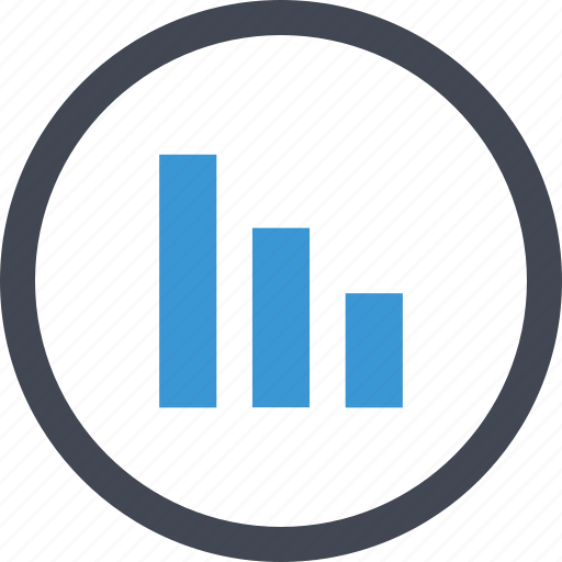 analytics, business, chart, graph, online, report, signal icon