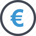 coin, currency, euro, money, sign, welath icon