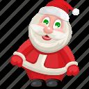 christmas, holiday, santa, santa claus, xmas icon